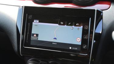 Suzuki Swift Sport infotainment