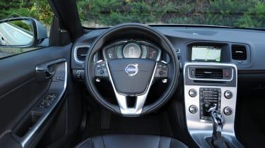 Volvo V60 D4 interior