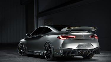 Infiniti Q60 Project Black S - rear quarter