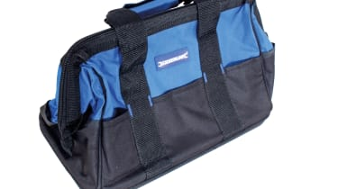 Silverline Hard Base Tool Bag, Hard Floor 268974