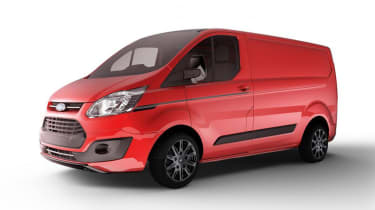 Ford Transit Custom Colour Edition - Race Red