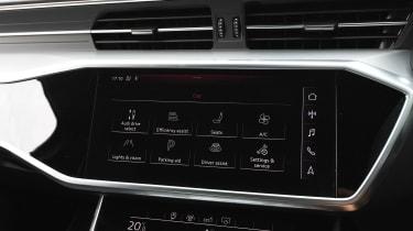 Audi A6 - screen
