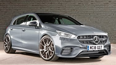Mercedes-AMG A 45 - exclusive image front
