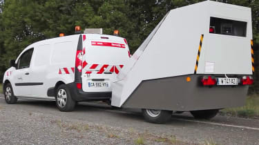 Vitronic Enforcement Trailer speed camera