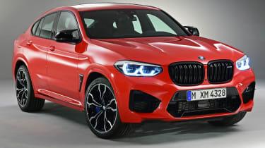 BMW X4M - front