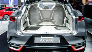 LA Motor Show - Jaguar I-Pace boot