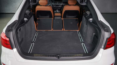 BMW 340i GT - boot seats downs