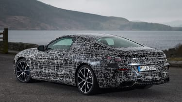 BMW 8 Series - rear