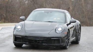 Porsche 911 spy front
