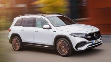 Mercedes EQB - front