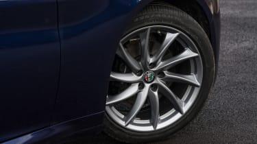 Alfa Romeo Giulia - wheel detail