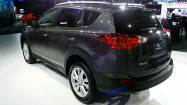 New Toyota RAV4 rear