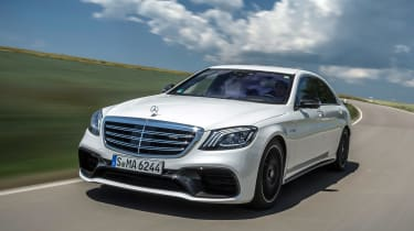 Mercedes-AMG S 63 - front