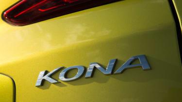Hyundai Kona Premium SE 2017 - badge kona