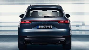 Porsche Cayenne - full rear