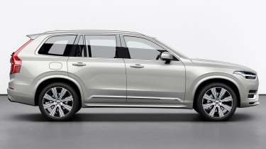 Volvo XC90 facelift - side