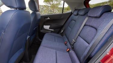 Kia Picanto 2017 - orange rear seats