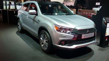 Mitsubishi ASX - Paris front three quarter