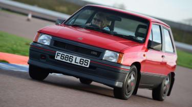 Appreciators: Vauxhall Nova SR