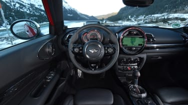 New MINI Clubman JCW 2017 dash