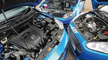 Mazda 2 vs rivals