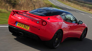 The Evora featres a new 3.5-litre V6 sourced from Toyota.