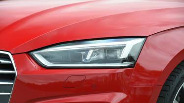 Audi A5 Cabriolet - front light detail