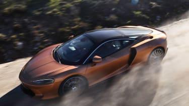 McLaren GT - front action