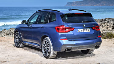BMW X3 M40i - rear static