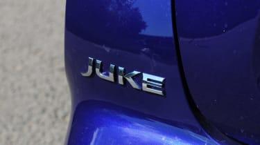 New Nissan Juke 2014 badge