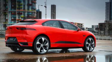 Jaguar I-Pace prototype 2017 - rear quarter