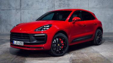Porsche Macan GTS - front