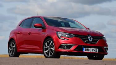 Renault Megane - front static