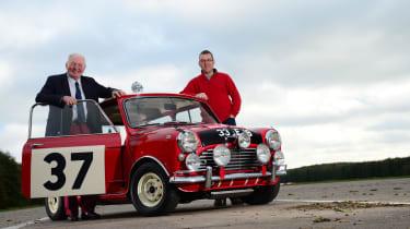 Mini Cooper S 1964 Monte Carlo rally winner - Paddy Hopkirk & Owen