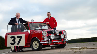 Mini Cooper S 1964 Monte Carlo rally winner - Paddy Hopkirk & Owen