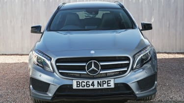 Used Mercedes GLA - full front