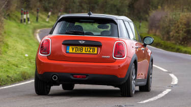 MINI - rear action
