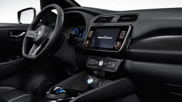Nissan Leaf e+ - cabin