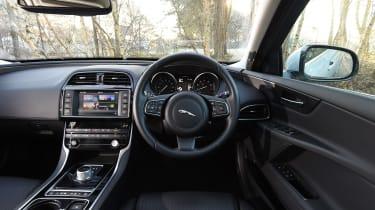 Jaguar XE Portfolio petrol 2016 - interior