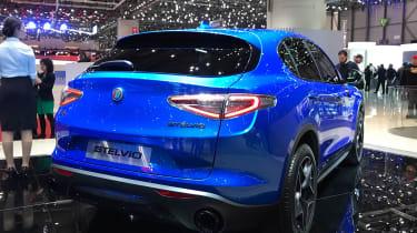 Alfa Romeo Stelvio Ti - Geneva rear