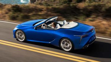 Lexus LC Convertible - rear action