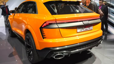 Audi Q8 Sport Concept - Geneva rear