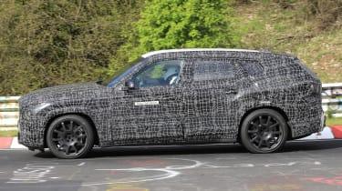 BMW X8 - spyshot 8