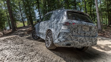 Mercedes GLE prototype - off-road rear