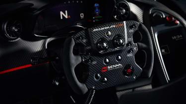 McLaren P1 GTR produced by MSO - steering wheel