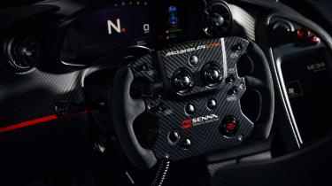 McLaren P1 GTR produced by MSO - steering wheel