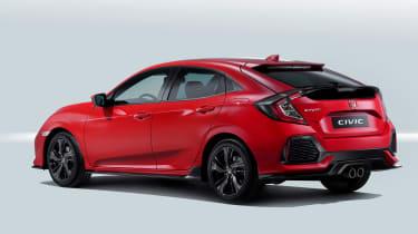Honda Civic: The Smarter Choice (sponsored) rear