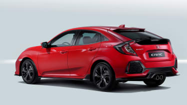 Honda Civic: The Smarter Choice (sponsored) rear