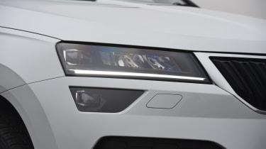 Skoda Karoq - headlight