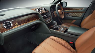 Bentley Bentayga by Mulliner interior